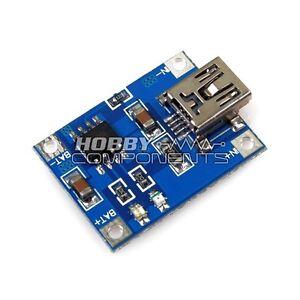 MINI-BATTERIA-AL-LITIO-5V-USB-1A-RICARICA-Board
