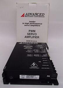Advanced Motion Controls Brushless PWM servo Amplifier BE12A6-AB1