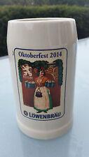 BIERKRUG - OKTOBERFEST 2014 - LÖWENBRÄU MÜNCHEN