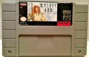Mystic-Ark-SUPER-NINTENDO-SNES-NTSC-Video-Game-Cartridge