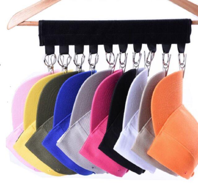Baseball Cap Closet Rack Hat Holder Rack Home Organizer Storage Door Hanger