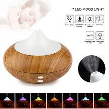 LED Ultraschall Luftbefeuchter Aroma Diffuser Aromatherapie Duftlampe 7 Farbe DE