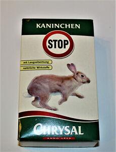 Chrysal-Kaninchen-Stop-Langzeitwirkung-natuerliche-Wirkstoffe-500g-NEU