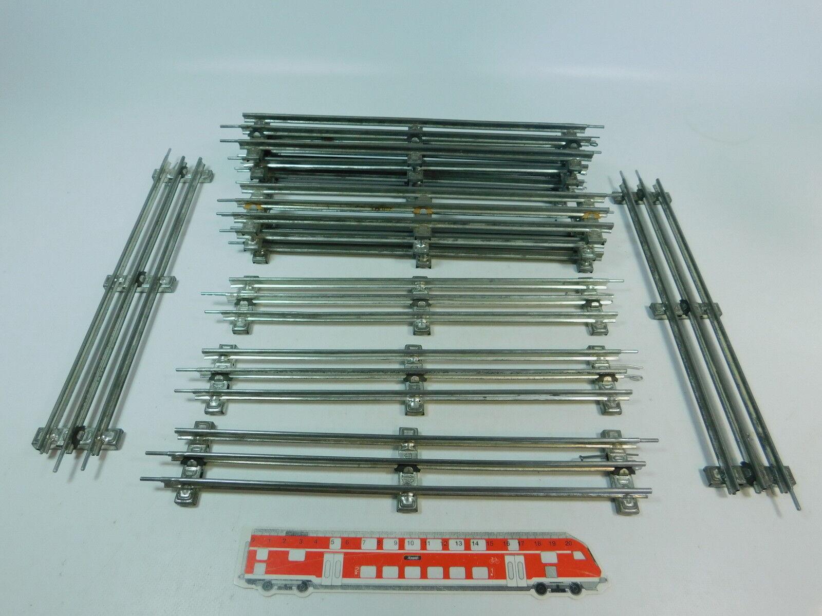 Av29-2  12 x  /Marklin Traccia 0 PEZZO PISTA  32 cm  per elettrica
