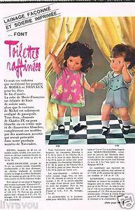 ▬► Page Poupée Marie-Françoise  Michel Modes et Travaux  03//1972