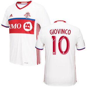 new concept 78f32 f17ad adidas Toronto FC MLS 2016 Sebastian Giovinco # 10 Soccer ...