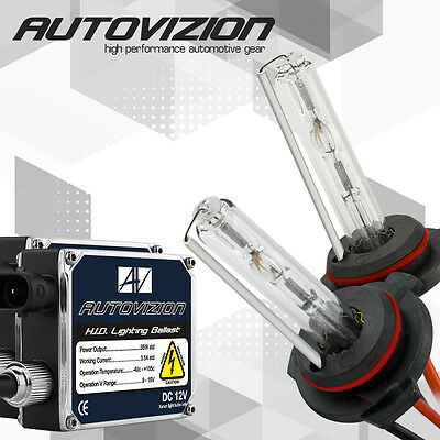 Autovizion 35W Slim HID Kit 9005 9006 H1 H3 H4 H7 H10 H11 H13 6000K 5000K Xenon