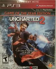 Uncharted Among Thieves 2 (Sony Playstation 3, Cardboard Case) New