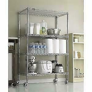 BRAND NEW WIRE SHELVES and SHELVING-Chrome and Black Coated--AMAZING DEALS!! City of Toronto Toronto (GTA) Preview