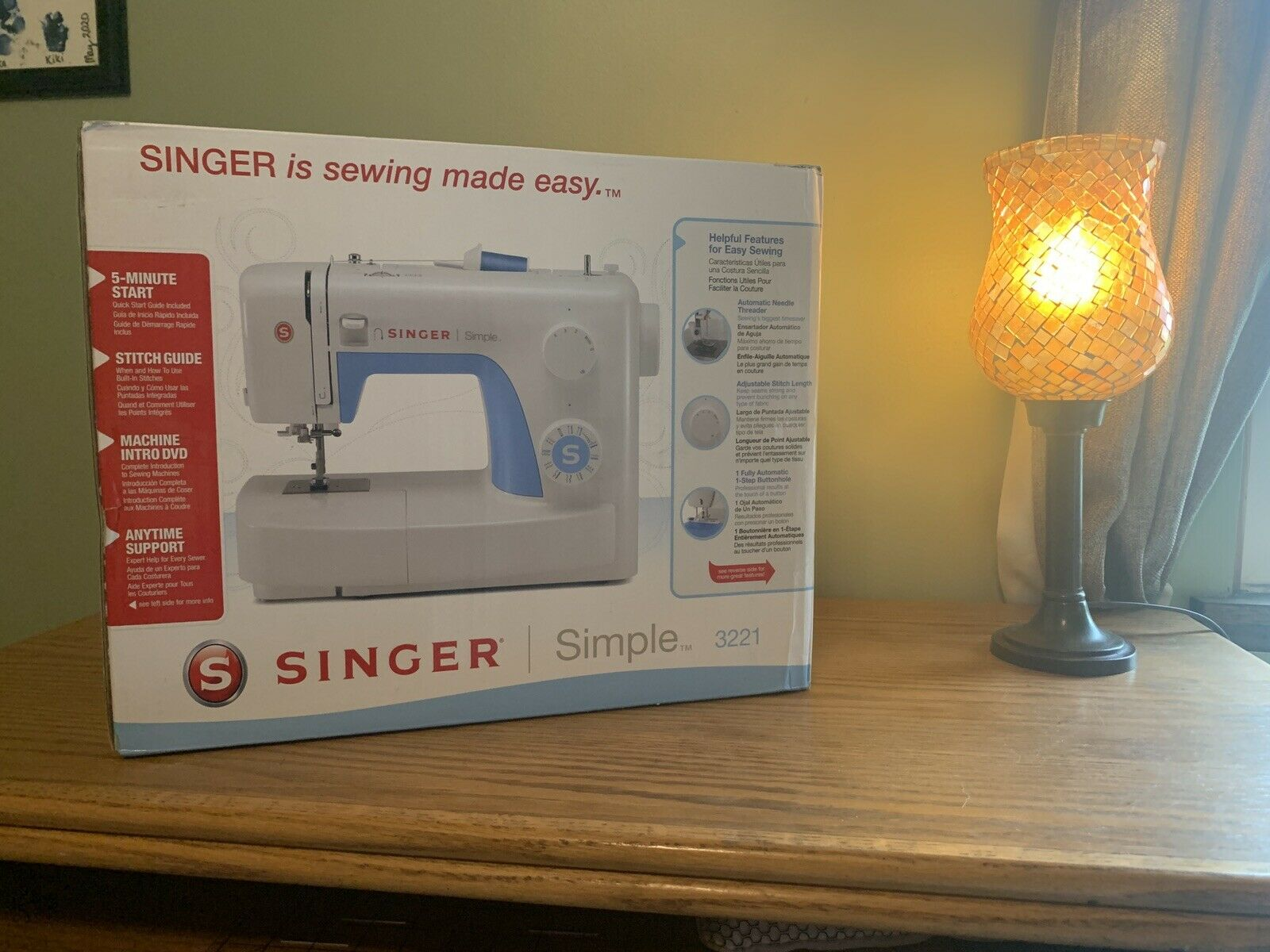 s l1600 - Singer 3221 Simple Mechanical Sewing Machine
