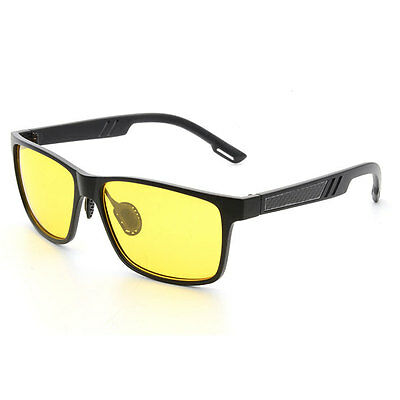 Polarized Mens Vintage Retro TR90 Aviator Sunglasses Driving Eyewear Glasses