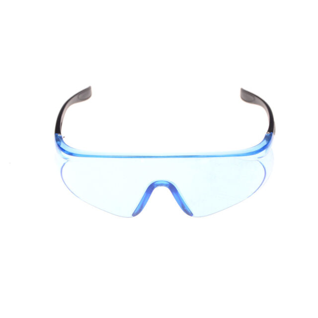 1PC Blue Protective Eye Goggles Safety Transparent Glasses For Children Games ED