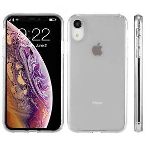 "For Apple iPhone XR Case 6.1"" Silicone Crystal Clear Bumper Gel iPhone 10R Cover 700355485704"