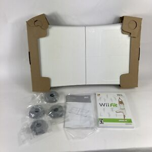 Nintendo Wii Bundle Balance Board With Wii Fit Plus Game Complete
