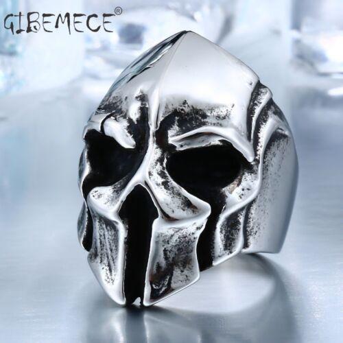 Big Biker Skull Ring For Man Stainless Steel Unique Punk Men Cool Vintage Jewelr