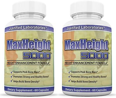 Maxheight Height Enhancement Growthmax Grow Height Taller Supplement Pills Combo 798295293091 Ebay