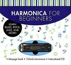 Harmonica for Beginners: Learn Blues, Rock, Jazz, and More! by Sterling Publishing Co Inc(Mixed media product)