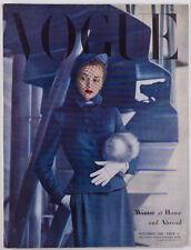 Carl Erickson NORMAN PARKINSON Balenciaga CRESPI Vogue magazine UK November 1948