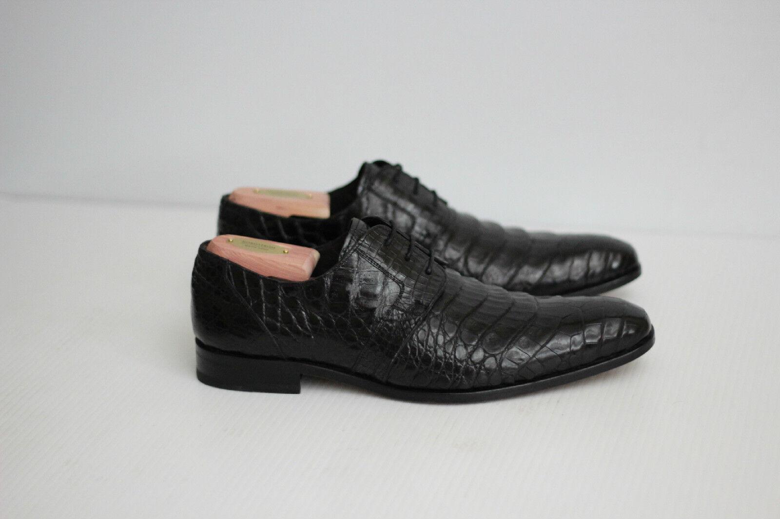 best-seller Mezlan 'Orazio' Crocodile Plain Plain Plain Toe Derby - nero - Dimensione 8.5 M (C26)  prodotti creativi