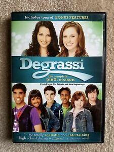 Degrassi-The-Next-Generation-Complete-Season-10-DVD-2013-4-Disc-Set-FREE-SHIP