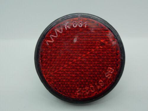 Nouveau falkx Vélo Réflecteur Catadioptre protection Tôle Montage-Ovale-Code de la route
