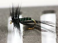 Black Hopper Crane Fly Dry Trout Fishing Flies Various Options