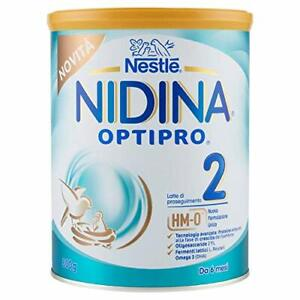 Nestlé Nidina OPTIPRO 2 HM-O da 6 Mesi Latte di Proseguimento in...