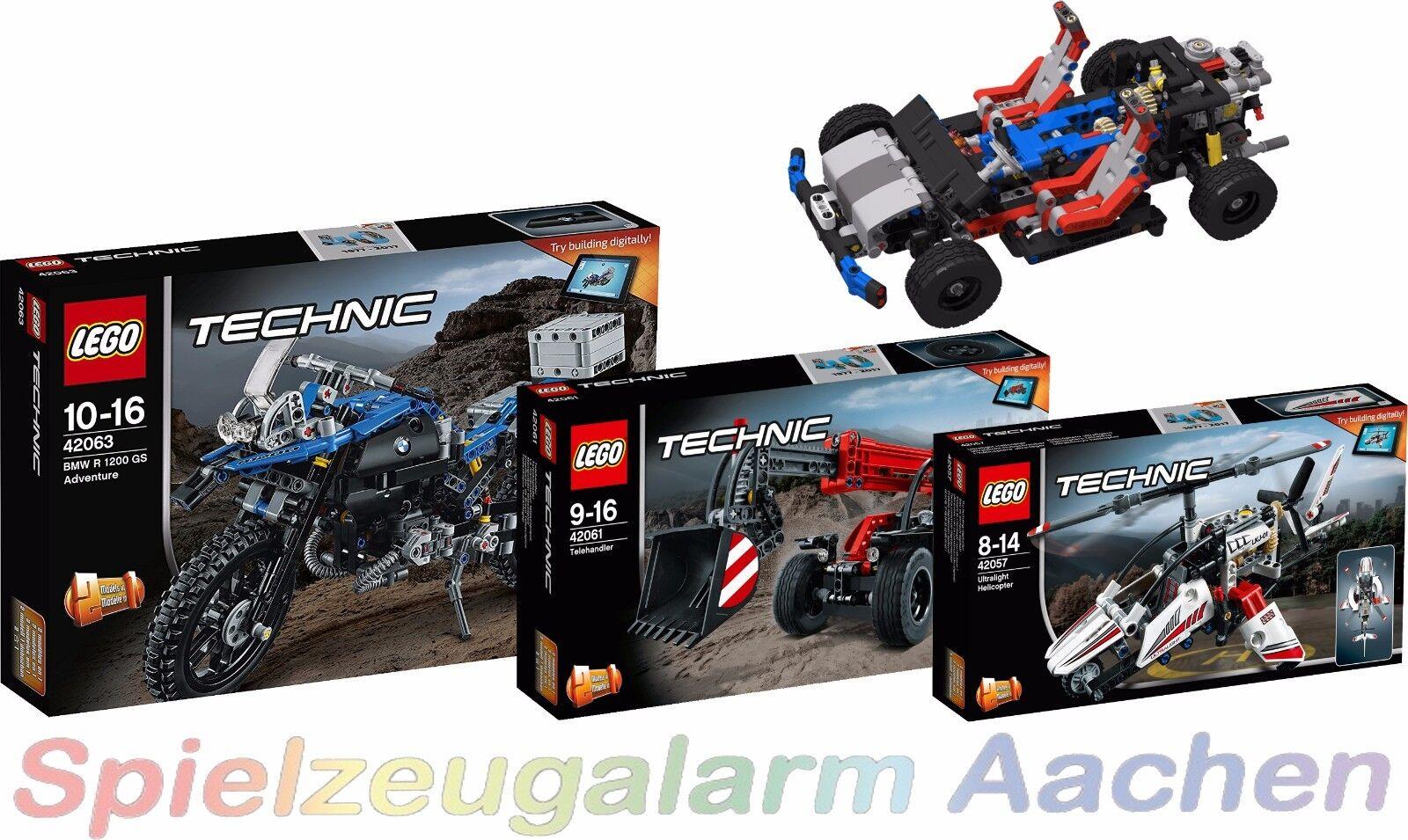 LEGO exclusv modello 40 anni Technic da 42063 42061 42057