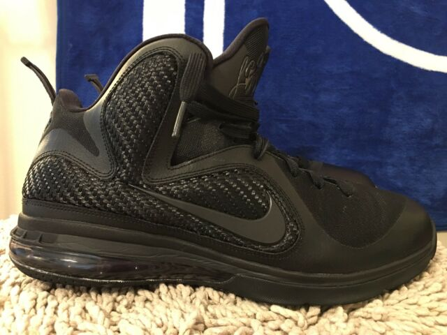 online store bc046 2c880 Nike LEBRON 9 IX BLACKOUT, 469764-001, Men's Basketball Shoes, Size 11
