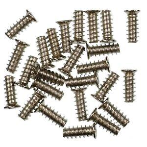 Pack-of-25-13mm-Silver-PC-Fan-Screws-KB5-Standard-Computer-Case-Fixing-Screw
