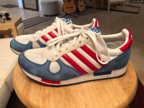 blanco mujer Adidas de para Vtg Grete deporte US7 correr Azul rojo Waitz Zapatillas para CXnOwq4n