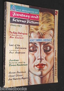 Vintage-Magazine-of-Fantasy-amp-Science-Fiction-UK-Feb-1960-Isaac-Asimov-SF