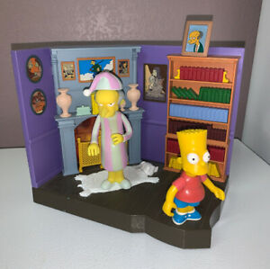 Playmates-Simpsons-World-of-Springfield-Burns-Manor-2-Figures-Interactive