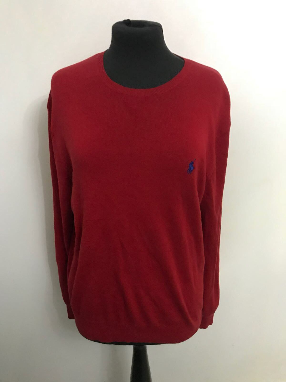 Mens ralph lauren red jumper size m bnwot