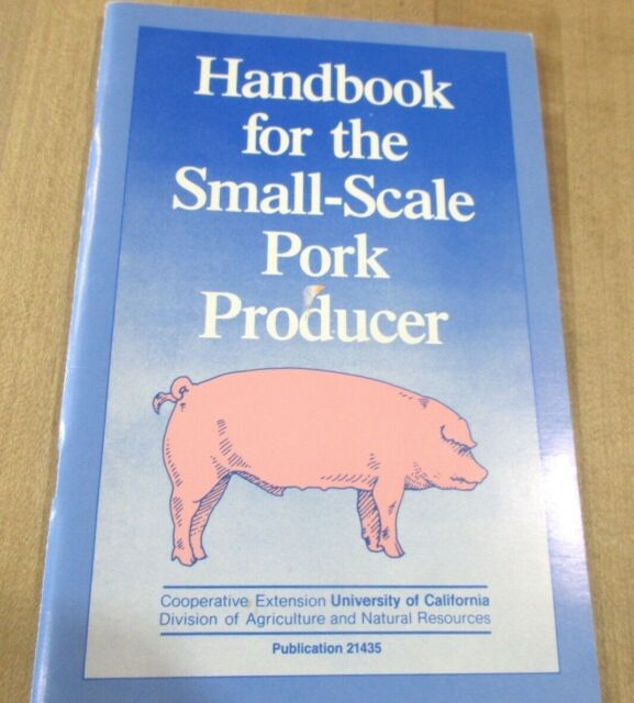 1987 Handbook for the Small Scale Pork Producer #21435  (b)