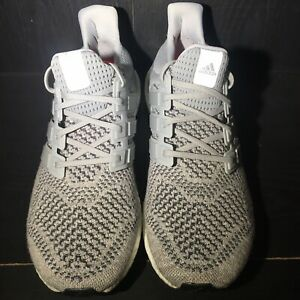8e3abe030f361 Image is loading Adidas-Ultra-Boost-1-0-Wool-Grey-Size-