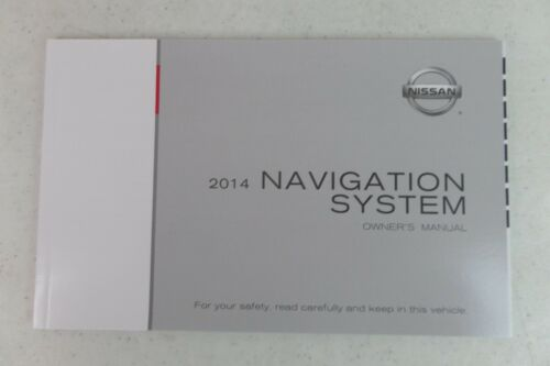 14 2014 Nissan Altima Navigation Owner/'s Owners Owner Manual Kit Set Case Guide