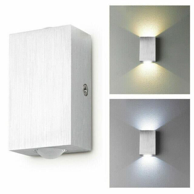 LED Wandleuchte Aussenlampe WandLampe Spot Bad Fassaden Strahler Up Down Leuchte