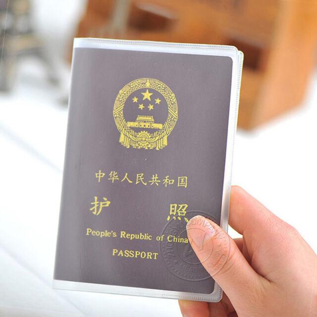 Matte Transparent Passport Case Functional Waterproof Passport Holder HOT