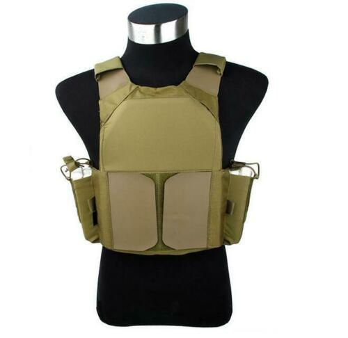 The Mercenary Company LV-MBAV Low Visibility Slick Vest Tactical Carrier
