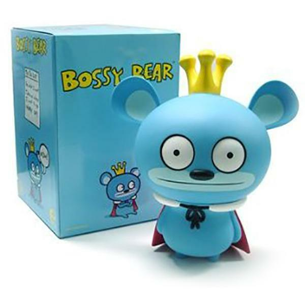 Bossy Bear 12 Inch - David Horvath Designer Toys - Brand New Mint