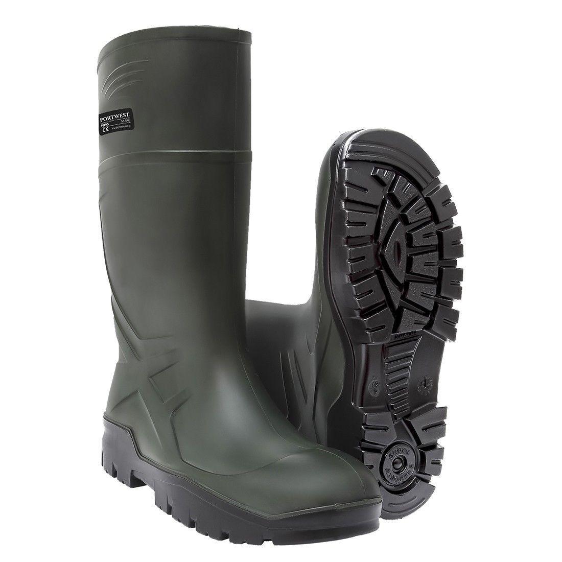 Portwest Wellington Thermal Wellies Lightweight Boots Like Dunlop Purofort FD90