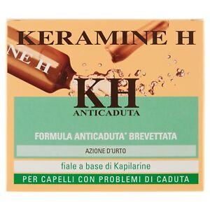 Keramine H, Fiala Anticaduta per Capelli Fiale a Base di Kapilarine 12 Monodose
