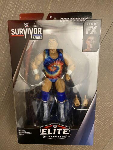 WWE Mattel Don Muraco Survivor Series Exclusive Elite figure dans la main Rapide Ship