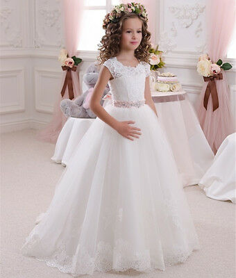New Wedding Flower Girl Dress Party Prom Princess Pageant Girls/' Formal Pageant