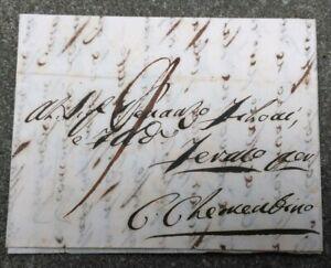 1846-PREFILATELICA-DA-PADOVA-A-CASTEL-CLEMENTINO-L-039-ODIERNA-SERVIGLIANO-MARCHE