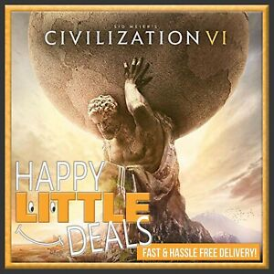 Sid-Meier-039-s-Civilization-VI-6-PC-STEAM-GAME-GLOBAL-NO-CD-DVD-Fast-Delivery
