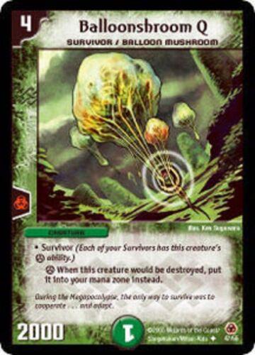 Duel Master Balloonshroom Q,DM-05 Survivors of the Megapocalypse