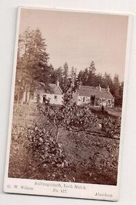 Vintage-CDV-Alltnaguibhsaich-Lodge-Loch-Muick-Scotland-G-W-Wilson-Phot-Aberdeen
