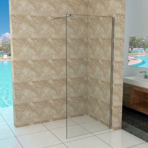Walk-In Duschtrennwand 10mm Glas 90-140cm Duschwand Duschabtrennung Dusche